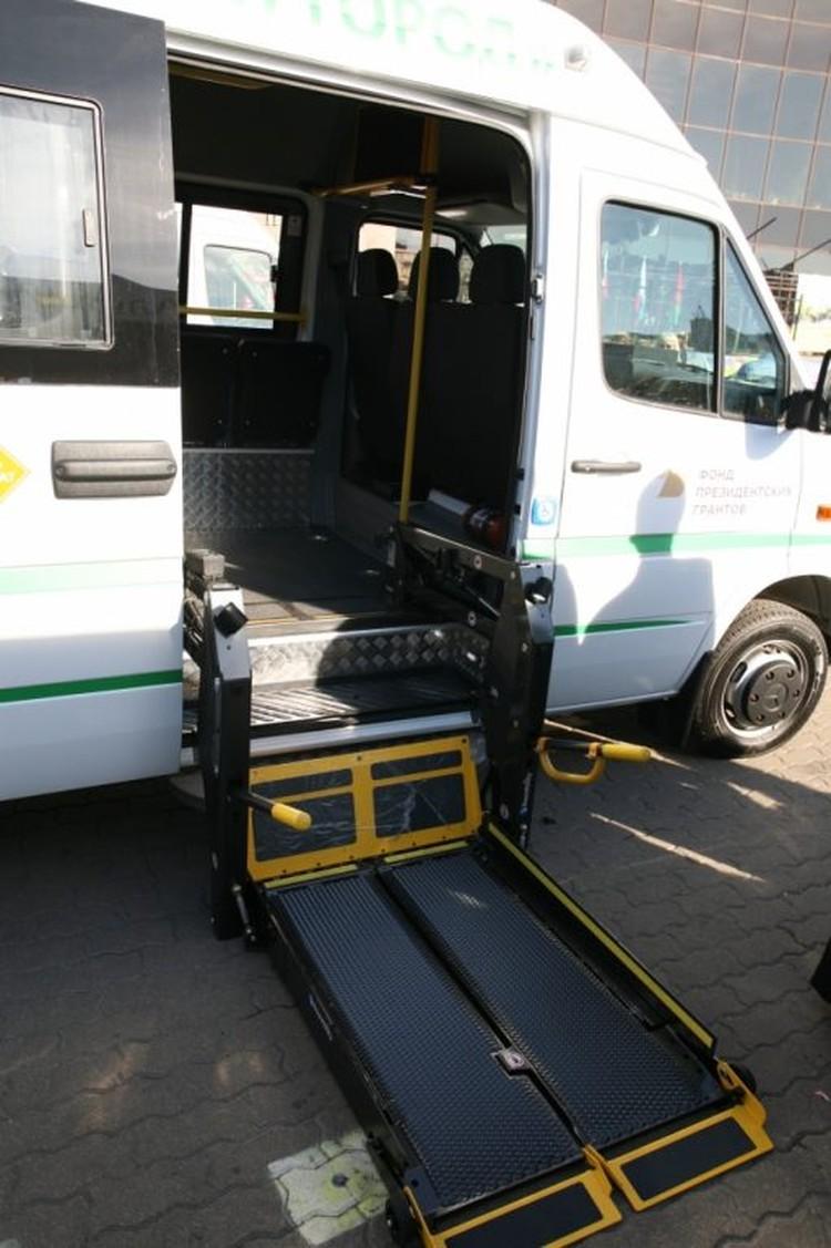 """Автобусы специально оборудовали для удобства людей с инвалидностью Фото: """"Мы вместе"""""""