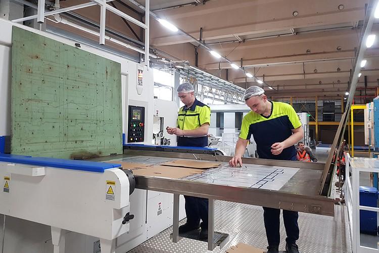 В Москве запустили экологичное производство картонных коробок