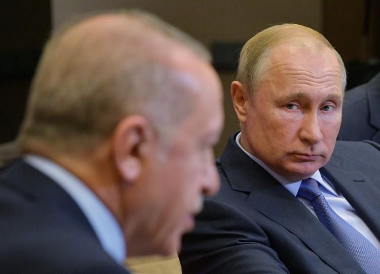 Переговоры президентов России и Турции продлились больше шести часов.