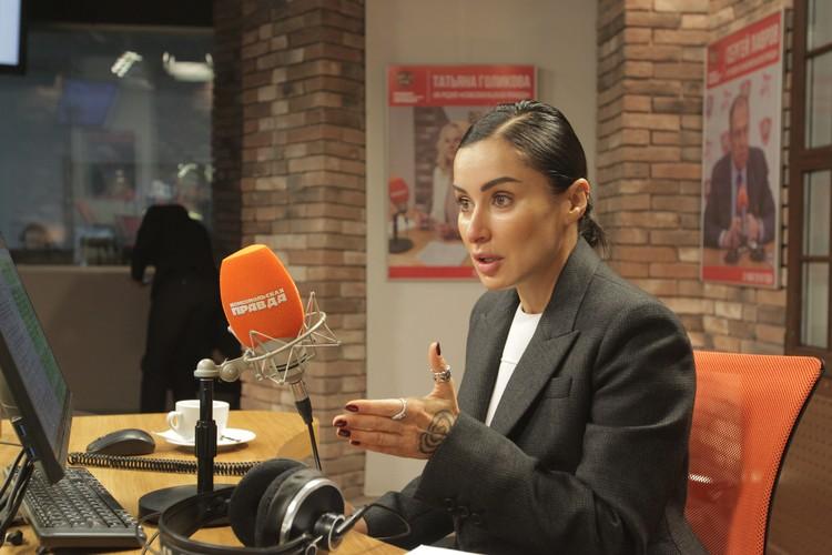 Тина Канделаки, ведущая программы «Доживем до понедельника» на радио «Комсомольская правда» (97,2 FM).