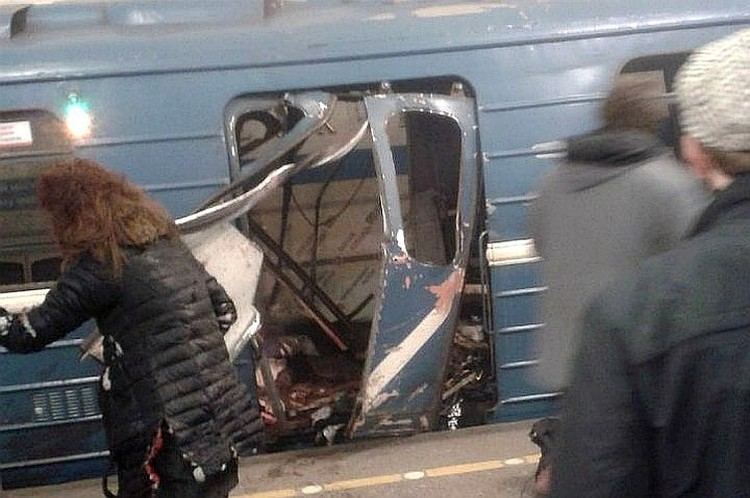 Трагедия в метро произошла 3 апреля 2017 года.
