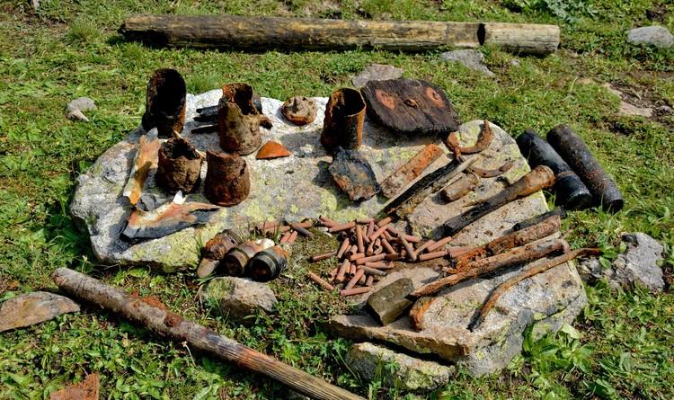 Находки передали в музей станицы Зеленчукской Фото: Эрнст Антонов
