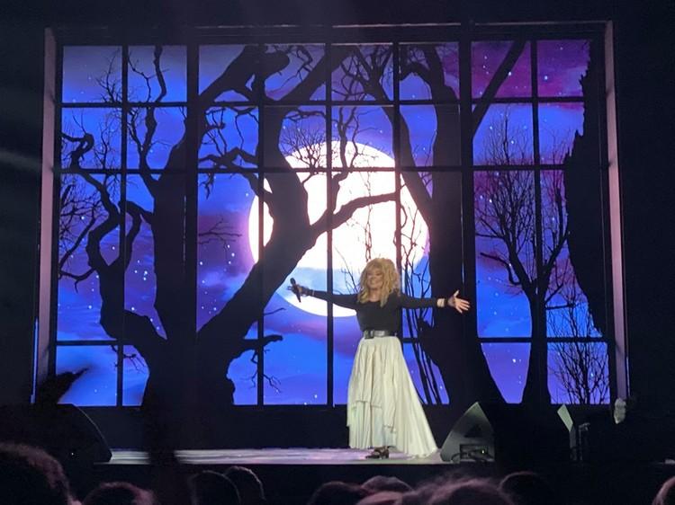 Алла Пугачева пела полтора часа. Фото: соцсети