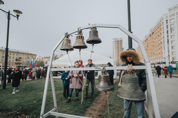 Сибиряки могли позвонить в колокола.
