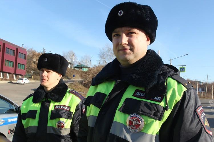 Дмитрий Зиновьев (справа) и его напарник Виктор Мардуев