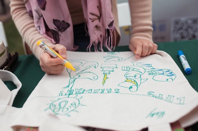 """Ребята привносят в творческий процесс необычные идеи и фишки Фото: """"Добрый-Юг"""""""