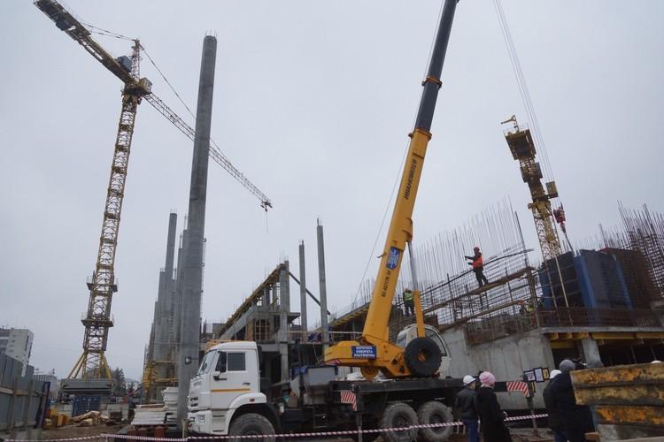 На возведение стен здания потратят 791 миллион рублей и почти миллиард - на инженерные сети