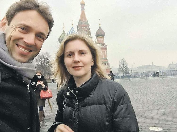 Соавторы книги Жан-Кристоф Бризар и Лана Паршина в Москве. Фото: Личный архив