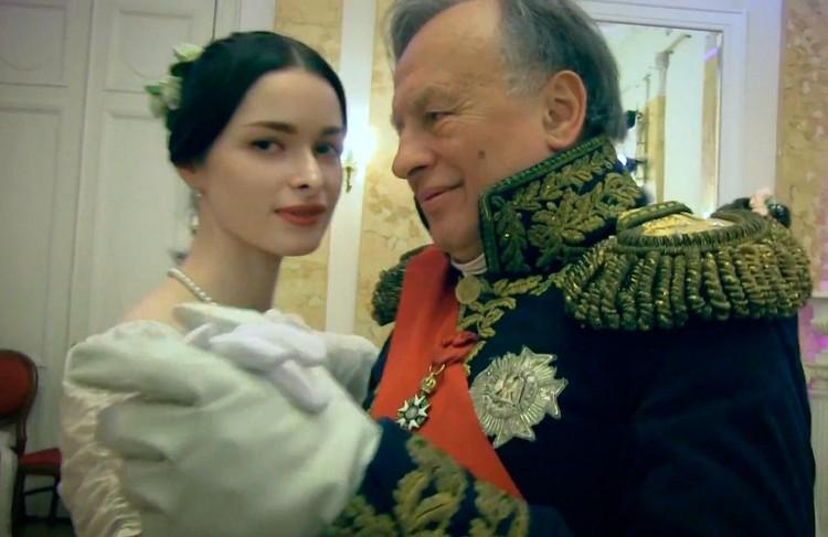 Соколов и Ещенко были частыми гостями исторических балов