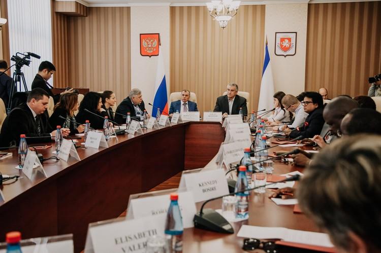 В составе делегации - 26 журналистов. Фото: пресс-служба Главы РК