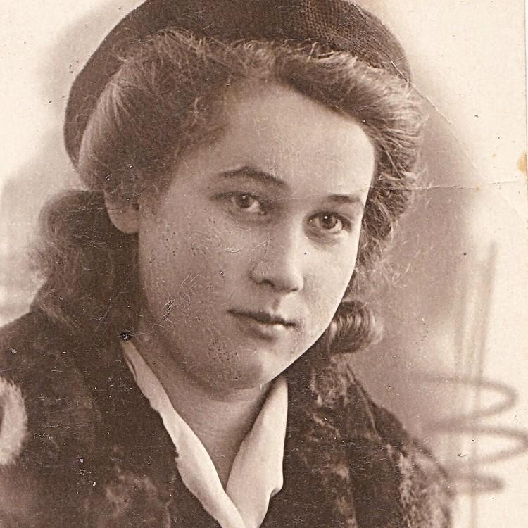Тамара Громова (Конева). Фото: Из архива Ирины Алексеевой