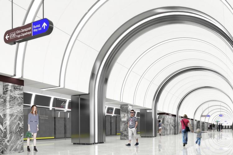 """Так будет выглядеть станция """"Путиловская"""". Фото: КРТИ"""