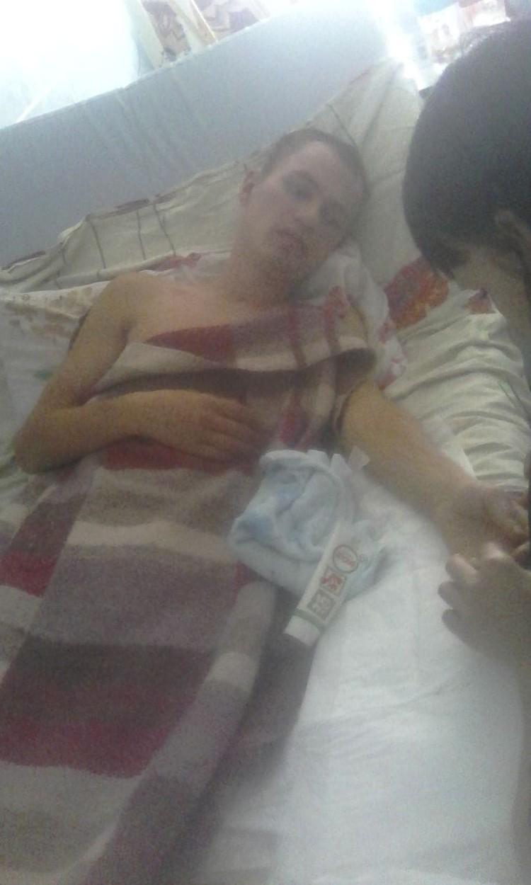В больницу парень поступил с тяжелейшими травмами. Фото: личный архив.