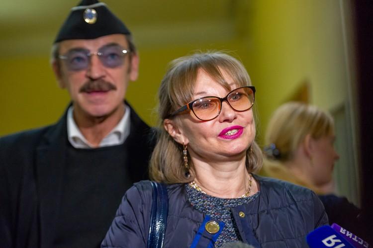 Михаил Боярский и его жена Лариса Луппиан.