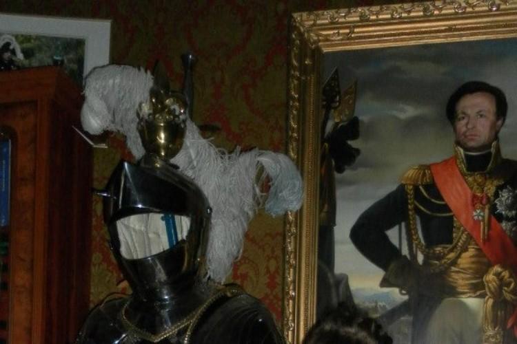 Олег Соколов любил образ Наполеона