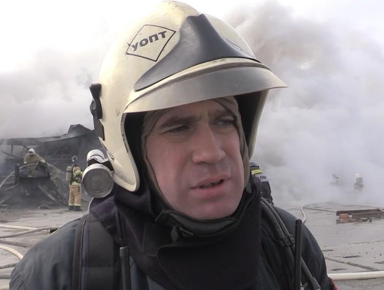 Виктор Косов сообщил о том, что пожару присвоен второй ранг. Фото: ГУ МЧС по Ростовской области