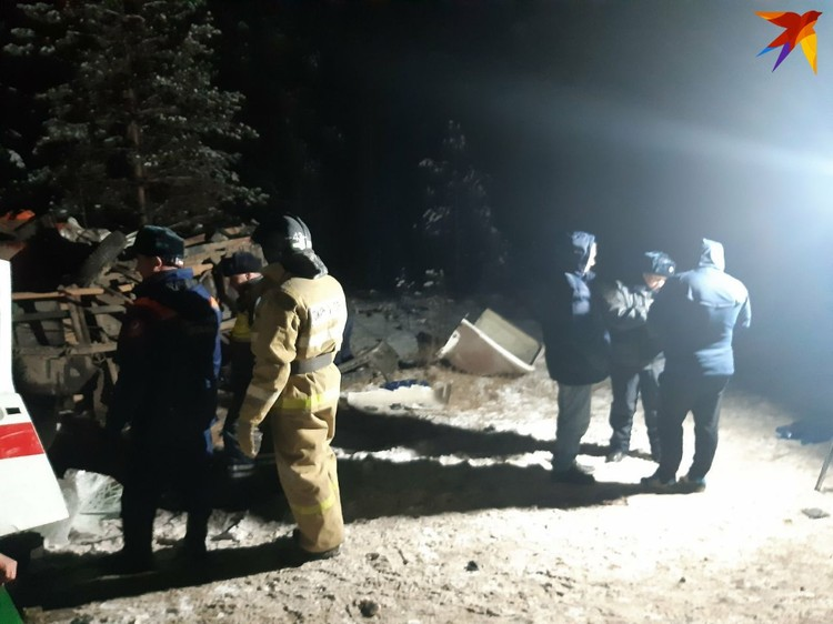 На место выехали спасатели и скорая Фото: предоставлено очевидцами