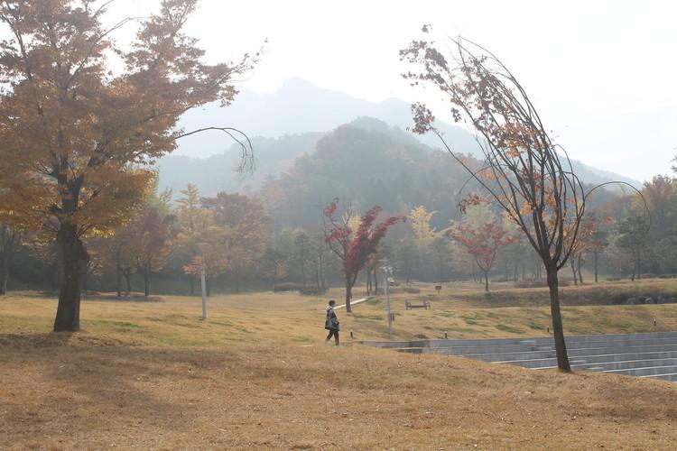 В Сеуле есть не только стекло и бетон, там много скверов и парков