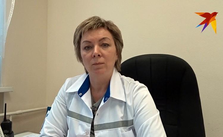 Татьяна Смолинова, руководитель станции скорой медпомощи