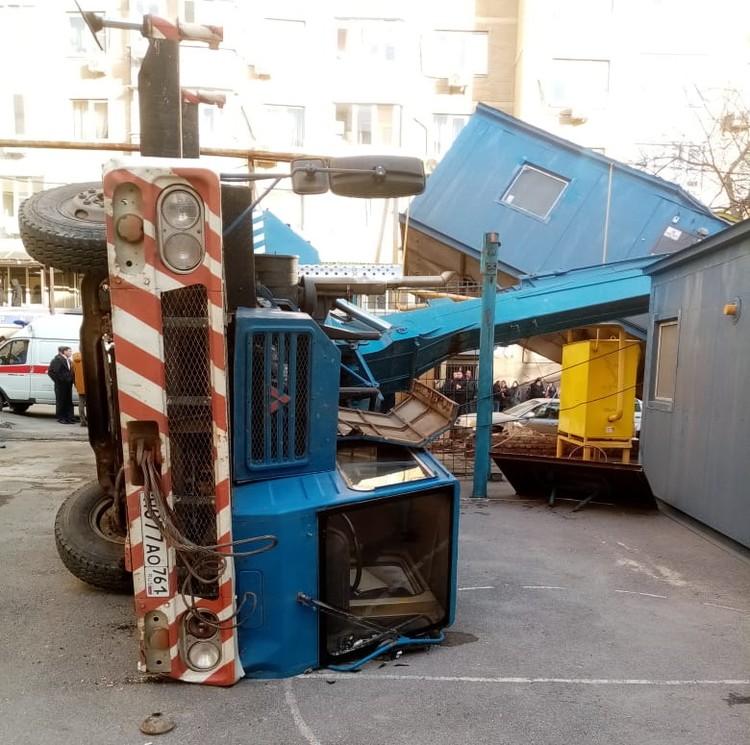 На месте ведутся восстановительные работы. Фото: ГУ МЧС России по РО.