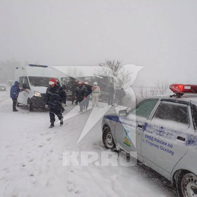 Это второй случай за последние несколько дней аварий с рейсовым транспортом.