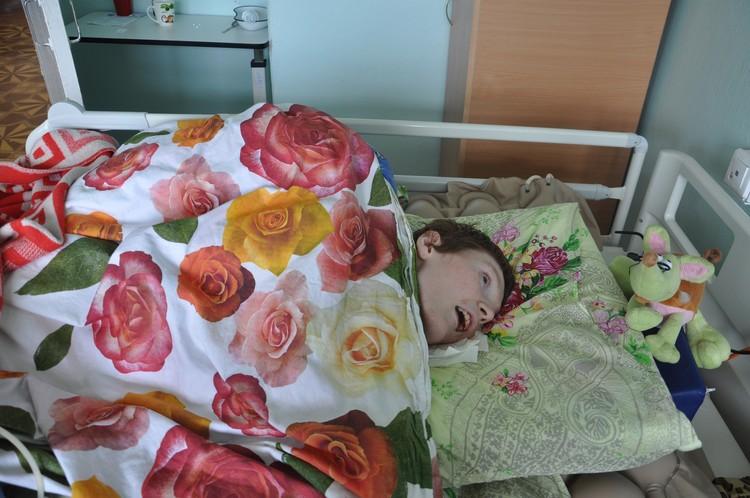 Ирина Пекарская прикована к постели уже 10 лет
