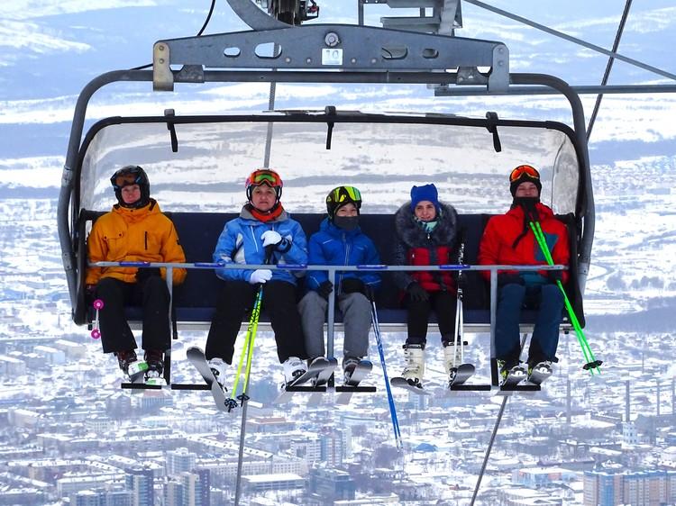 Спортивно-туристический комплекс «Горный воздух» - излюбленное место отдыха горнолыжников.