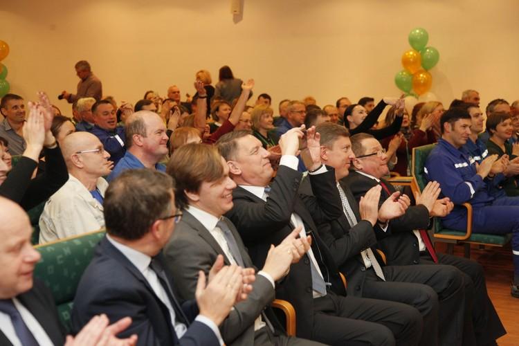 Кульминацией праздника стали поздравления коллектива «Пивзавода «Ярпиво».