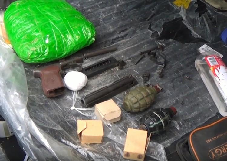 У членов преступной группы изъяты пулемет Дегтярева, пистолет-пулемет Шпагина, три пистолета