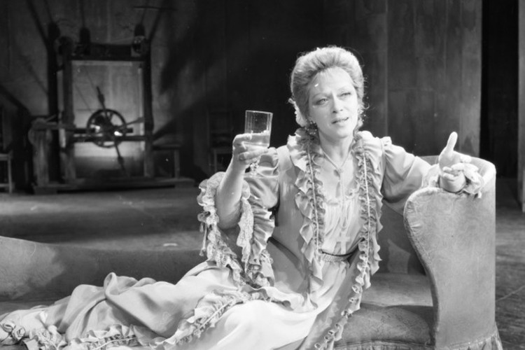1990-й год и роль леди Мильфорд в спектакле «Коварство и любовь». Фото: Большой драматический театр имени Г. А. Товстоногова
