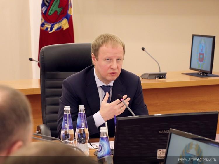 Губернатор Виктор Томенко подвел итоги 2019 года по финансированию региональной медицины. Фото предоставлено пресс-службой правительства Алтайского края.