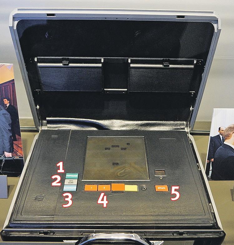 Ядерный чемоданчик Ельцина.