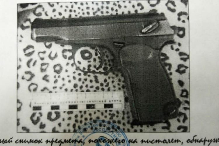 Фото того самого травматического пистолета. Фото: СУ СК России по Бурятии.