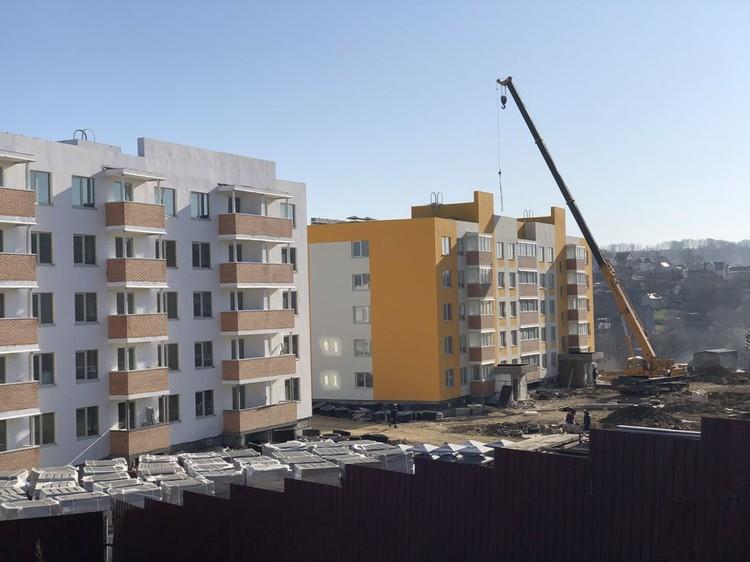 Жилые микрорайоны для судостроителей возводятся прямо в черте города. Автор фото: ОЛЬГА ОВСЯННИКОВА