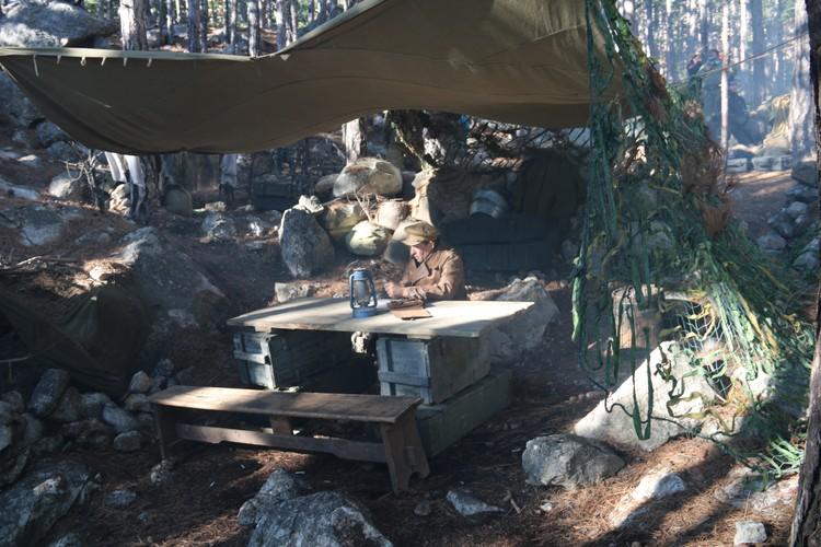 Командный пункт на склоне Ай-Петри.