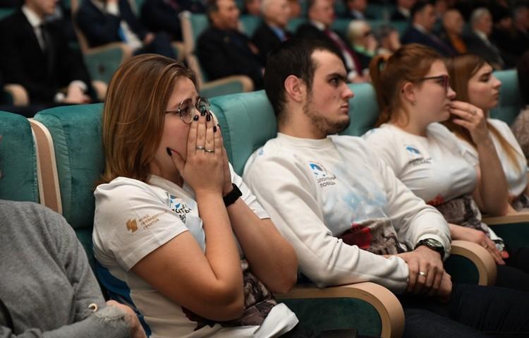 После просмотра многие плакали. Фото: ПТО