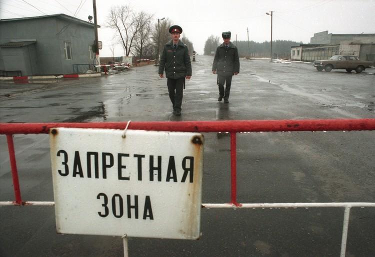 Территория Чернобыля после аварии стала запретной зоной