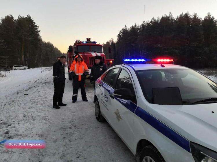 В автобусе находилось 53 пассажира. Фото: Валерий Горелых, пресс-секретарь ГУ МВД по Свердловской области