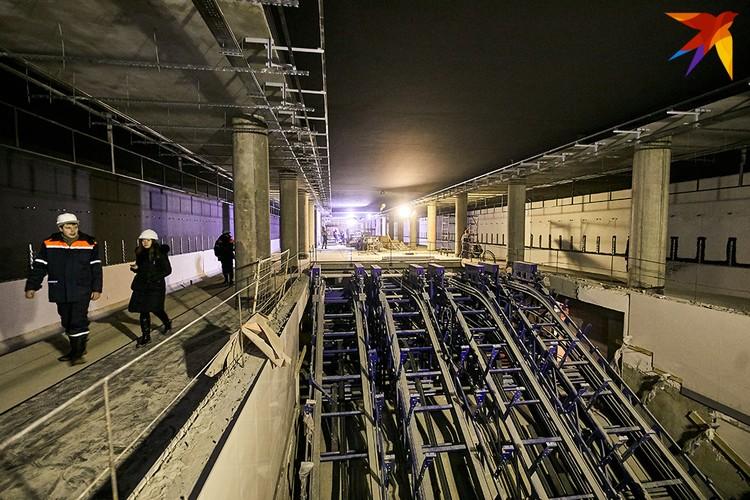 На «Вокзальной» можно будет пересесть на первую - Московскую - линию.