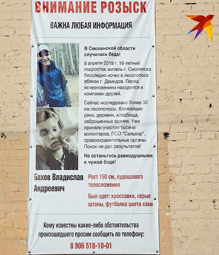 Объявления о пропаже Влада.