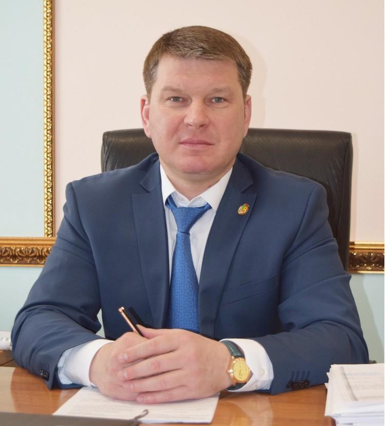 Николай Фролов. Фото администрации Рамонского района.