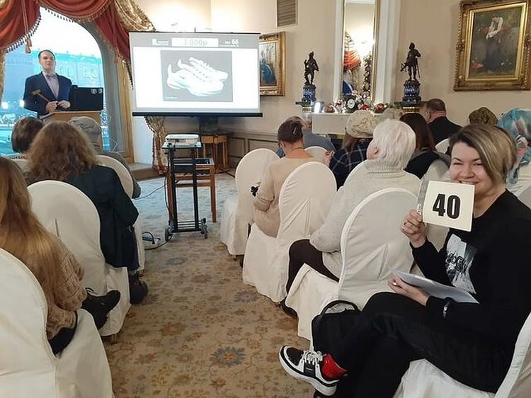 Корреспондент КП приняла участие в аукционе. Фото: Лера Галлай