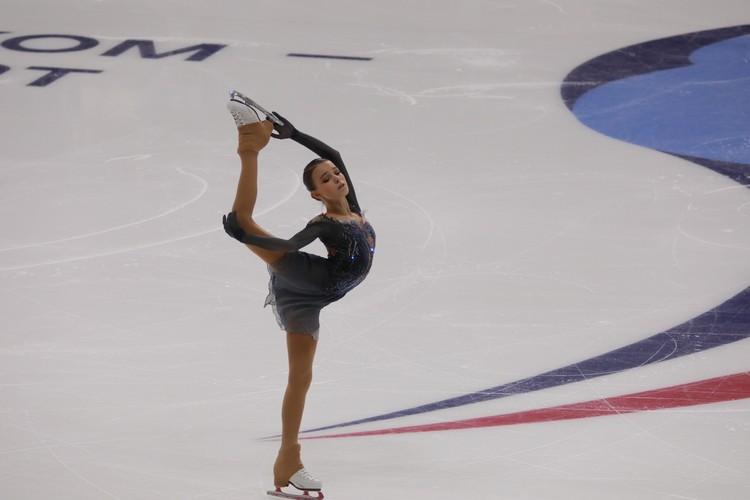 Анна Щербакова пока на втором месте