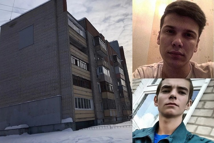 Станислав Мавренков (сверху) и Александр Суханов спасли жителей дома №77 по проспекту Фрунзе от взрыва бытового газа