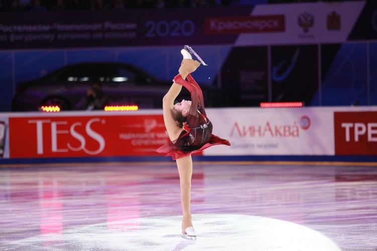 Выступление Анны Щербаковой очень хорошо встретила публика