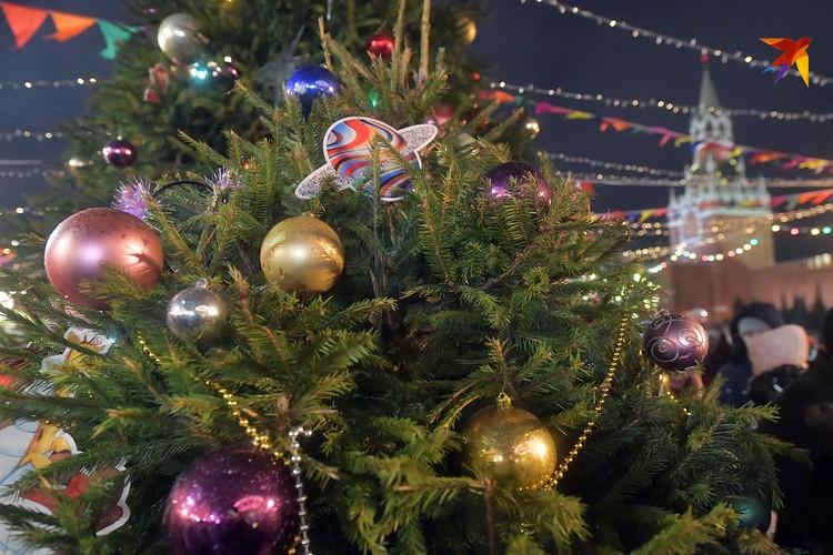 На главной площади страны царит праздничная атмосфера