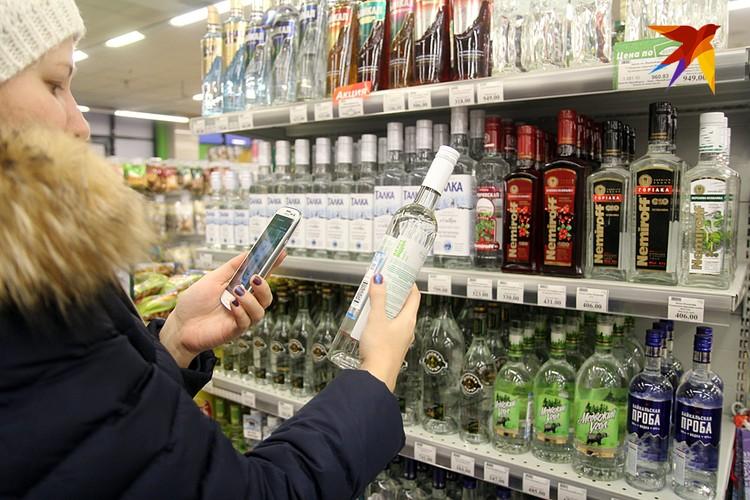 Доля затрат на алкоголь упала с 7,8% до 6,8% - и это при опережающем росте цен на спиртное