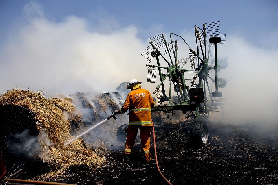 Температура в отдельных районах Австралии 1 января достигала +47 градусов Фото: REUTERS