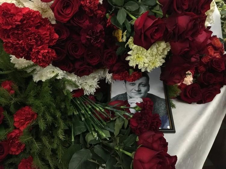 Церемония прощания началась в час дня. Фото: сайт Невские Новости.