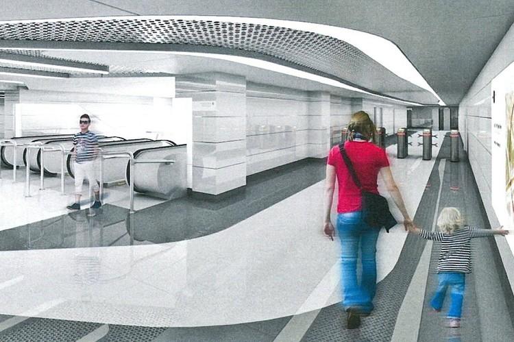 1 | 12 Станция БКЛ метро «Авиамоторная»